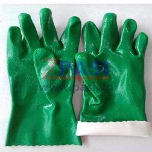 Bao tay coton phu cao su nitrile BH206-XX