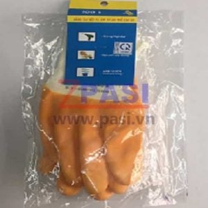 Bao tay polyeste phu cao su BH204A-XX